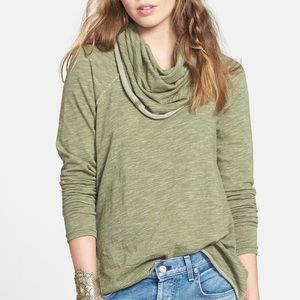 FREE PEOPLE | funnel neck sweater